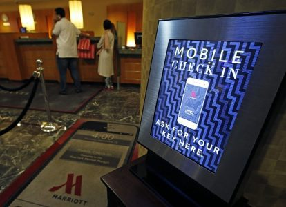 Mobile Check In Sign at Hotel | Teplis Travel